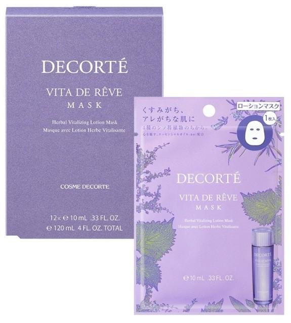 Cosme Decorte Vita De Rêve Herbal Vitalizing Lotion Mask