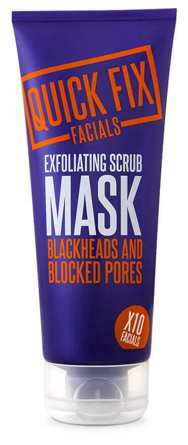 Quick Fix Facials Exfoliating Scrub Mask Blackheads And Blocked Pores.