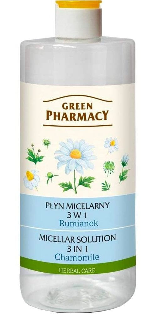 Green Pharmacy Micellar Solution 3 In 1 With Chamomile