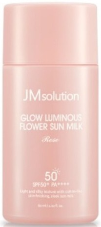 JMsolution Glow Luminous Flower Sun Milk Rose
