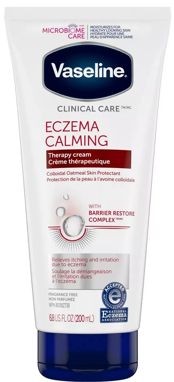 Vaseline Clinical Care Eczema Calming Therapy Cream