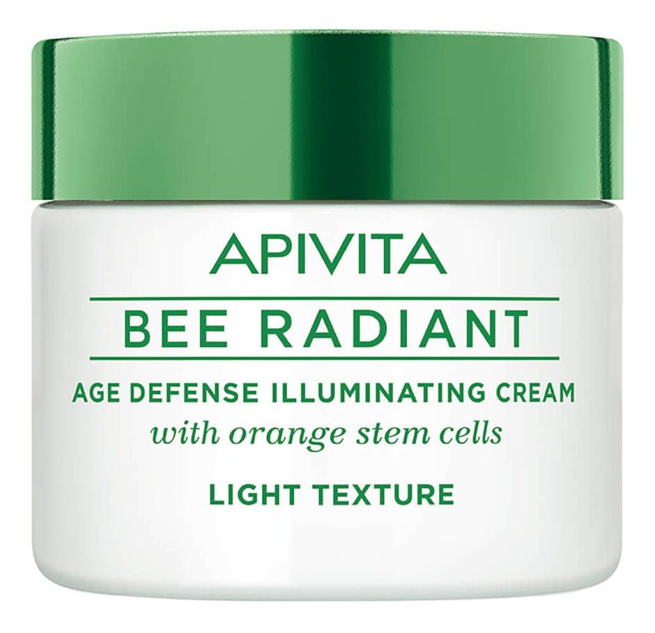 Apivita Bee Radiant Age Defense Illuminating Cream (Light Texture)