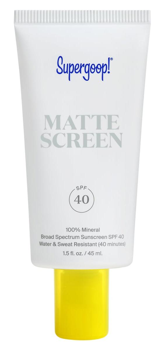 Supergoop! Mattescreen Sunscreen Spf 40