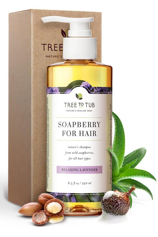 Tree to Tub Soapberry Shampoo Relaxing Lavendar