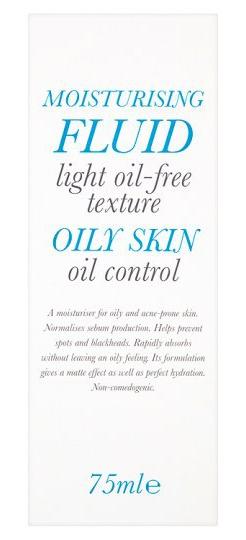 sCOSMETICS Moisturising Fluid For Oily Skin