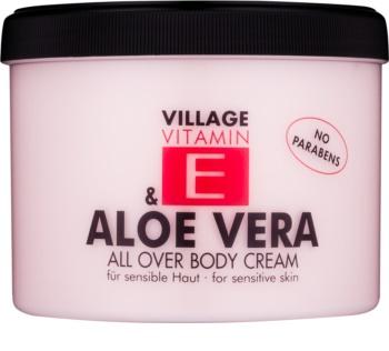 Village Vitamin E & Aloe Vera All Over Body Cream