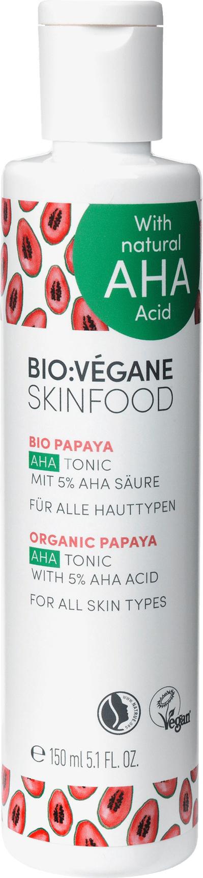 BIO VÉGANE Gesichtswasser Bio:Végane Bio Papaya Aha Tonic