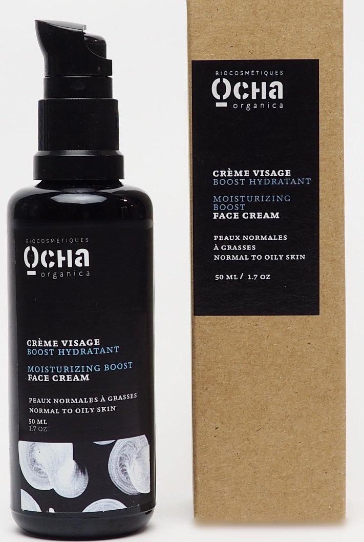Ocha Organica Moisturizing Boost Face Cream (Normal To Oily Skin)