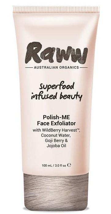 Raww Polish-Me Face Exfoliator