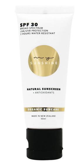 My Sunshine Natural Sunscreen Spf 30