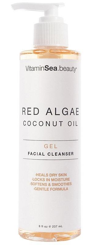 VitaminSea.Beauty Red Algae Coconut Oil Gel Facial Cleanser