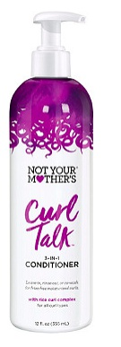 not your mother's Curl Talk 3-In-1 Conditioner