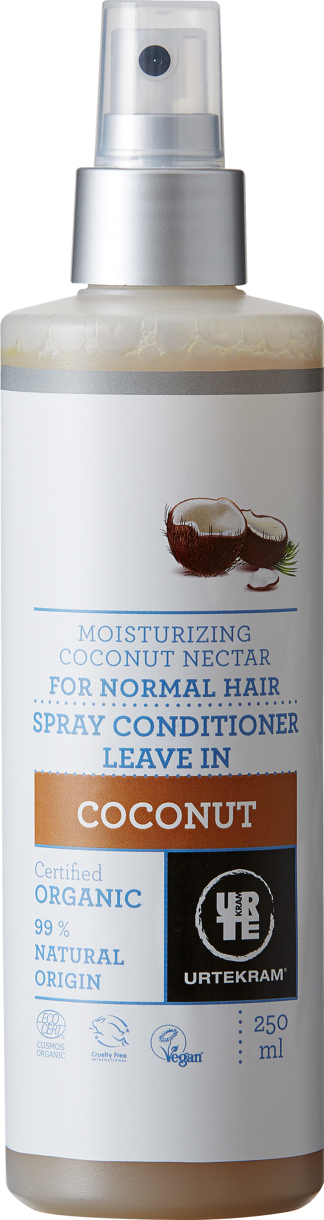 Urtekram Coconut Leave In Spray-Conditioner Organic