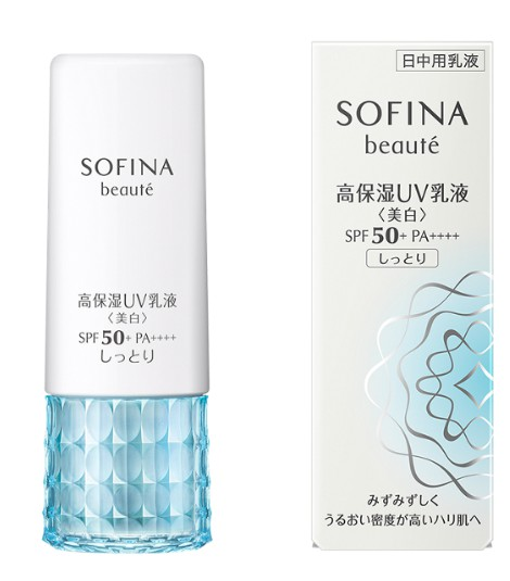 Sofina Beaute Whitening Uv Cut Emulsion Moist Spf50+ Pa++++