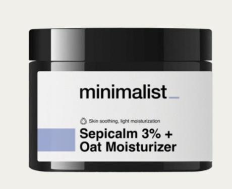 Be Minimalist Sepicalm 3% + Oat Moisturizer