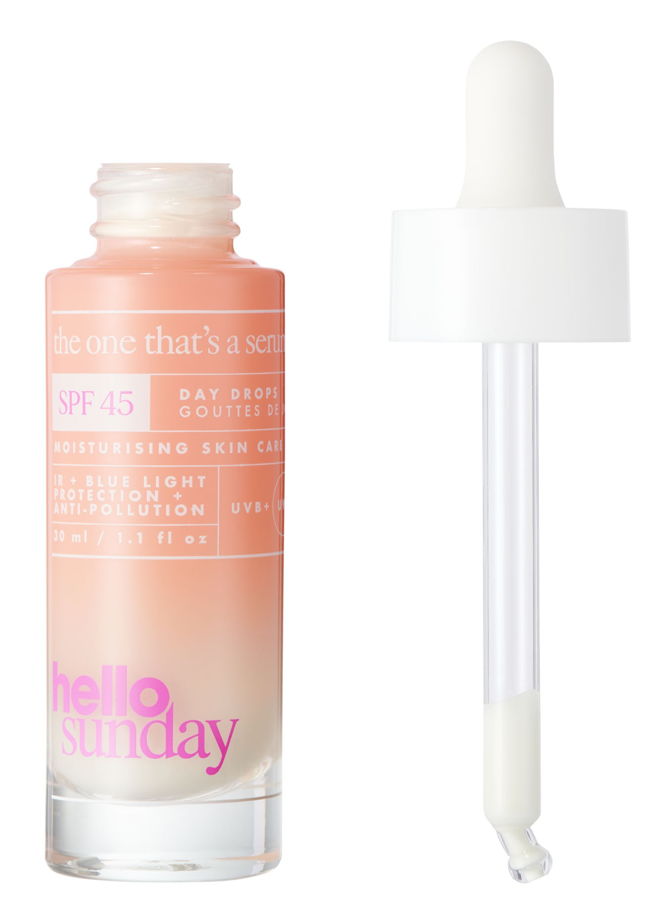 Hello Sunday The One That'S A Serum - Full Shield Drops SPF45