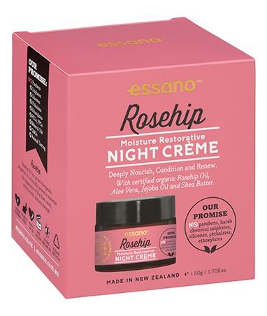Essano Rosehip Moisture Restorative Night Creme