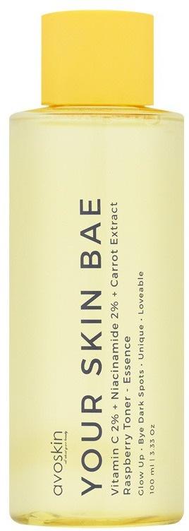 Avoskin Your Skin Bae Toner Vitamin C 2% + Niacinamide 2% + Carrot Extract + Raspberry