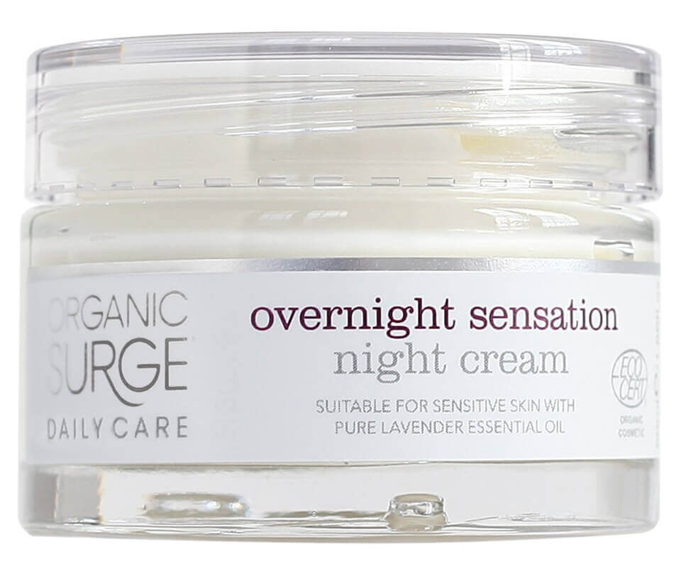 Organic Surge Daily Care Overnight Sensation Night Cream