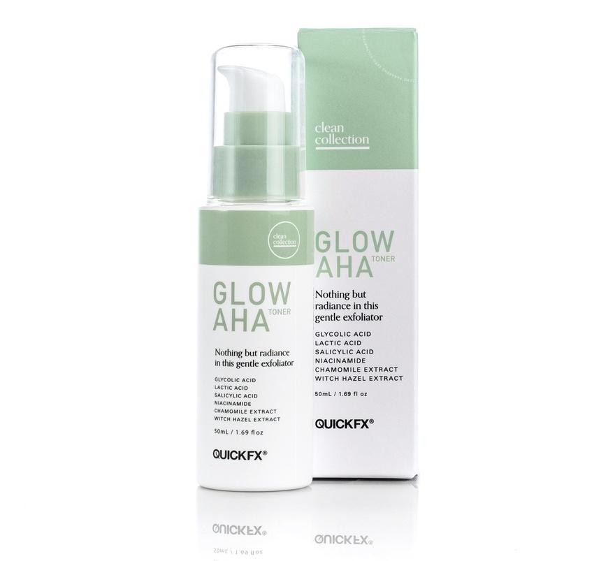Quickfx Clean Collection Glow Aha Toner