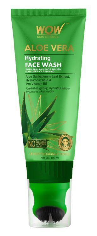 WOW skin science Aloe Vera Gentle Face Wash Gel