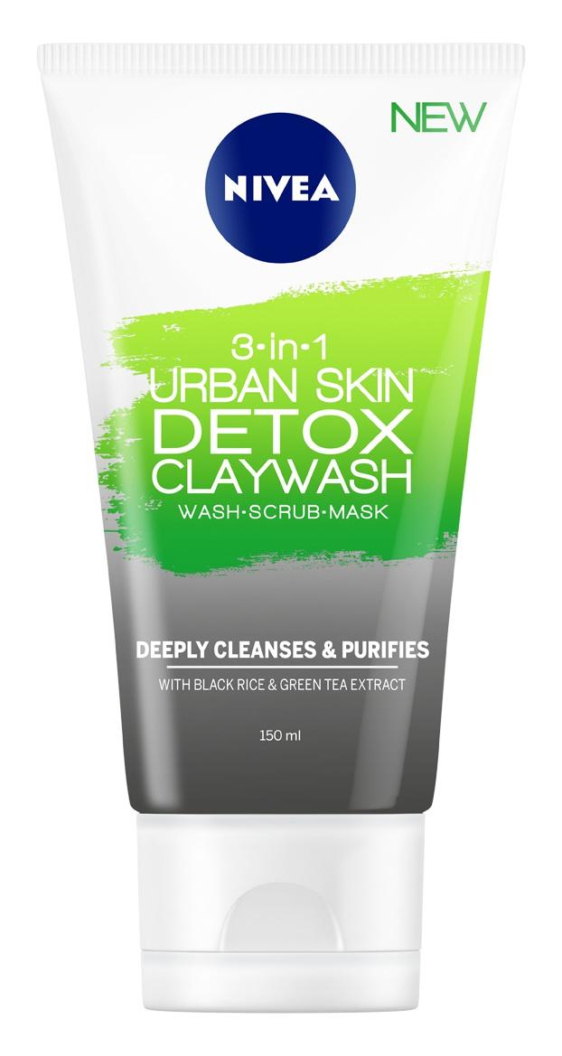 Nivea 3 In-1 Urban Skin Detox Clay Mask