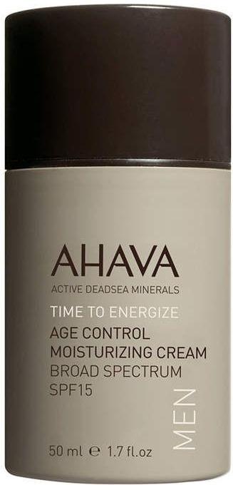 Ahava Men Care Age Control Moisturizing Cream Broad Spectrum SPF15
