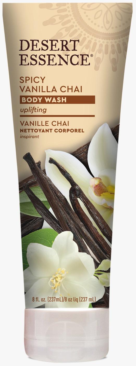 Desert Essence Spicy Vanilla Chai Body Wash