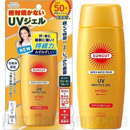 Kose Suncut Super Waterproof Perfect Uv Protect Gel Spf50+ Pa++++