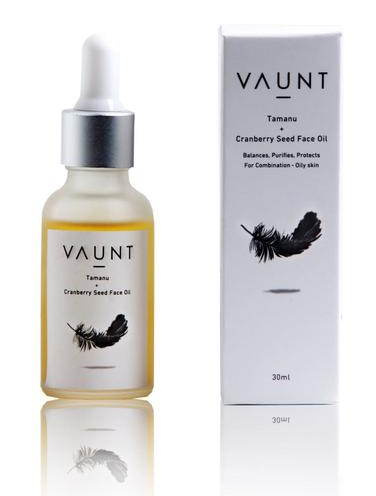 Vaunt Tamanu + Cranberry Seed Face Oil With Vitamin F Forte