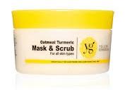 Yello Skincare Oatmeal Turmeric Mask / Scrub