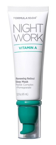Formula 10.0.6 Night Work Vitamin A Renewing Retinol Sleep Mask