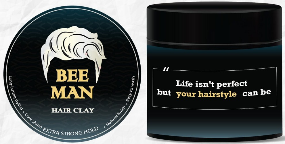 Bee Man Hair Clay
