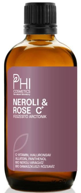 PHI Cosmetics Neroli And Rose C Feszesítő Arctonik
