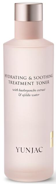 Yunjac Hydrating & Soothing Treatment Toner With Baeknyoncho Extract & Ujildu Water