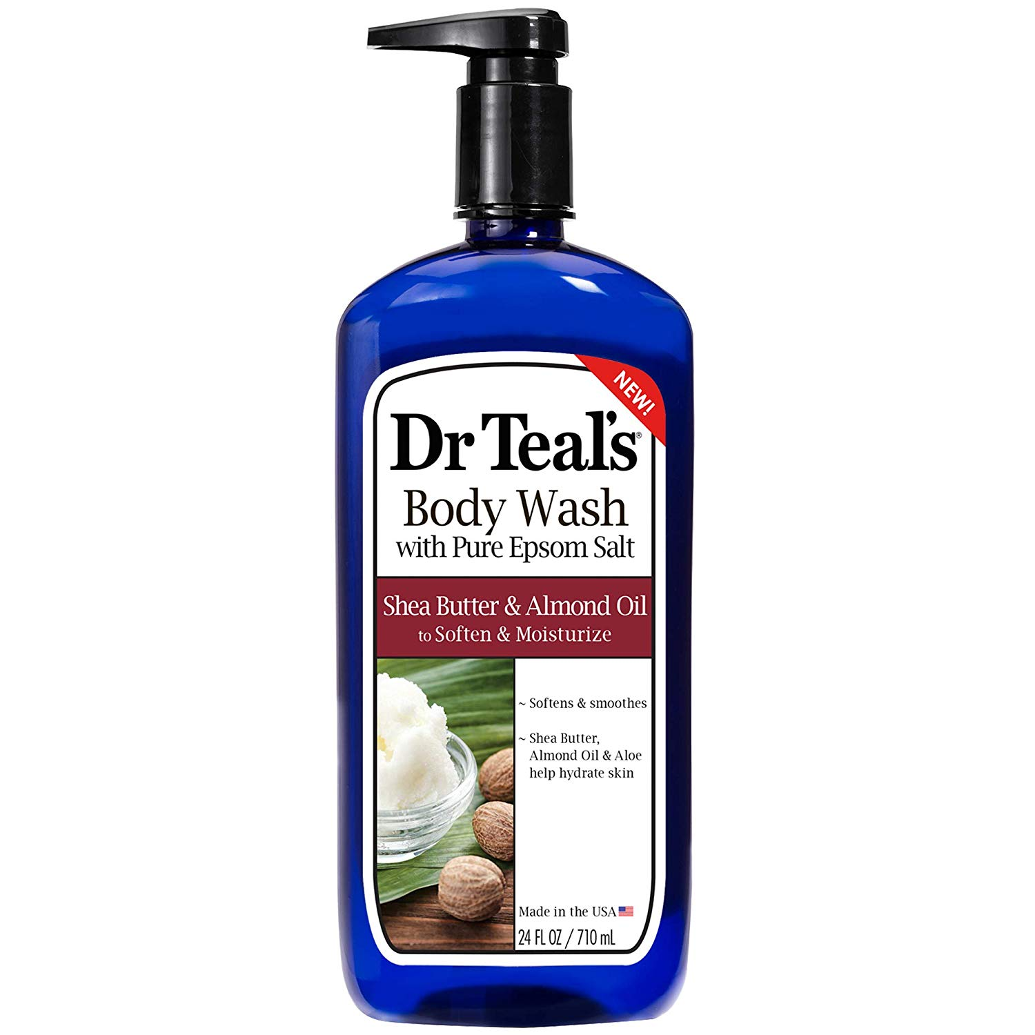 Dr. Teal's Shea Butter & Almond Oil Body Wash