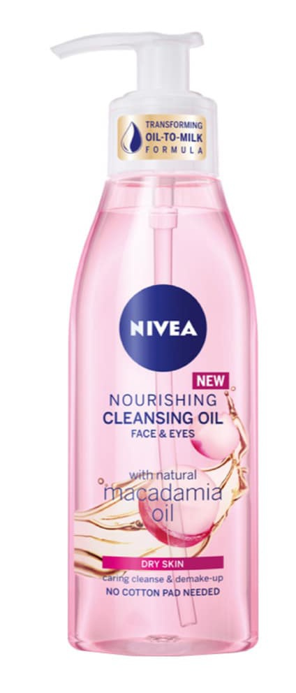 Nivea Nourishing Cleansing Oil (Dry Skin)