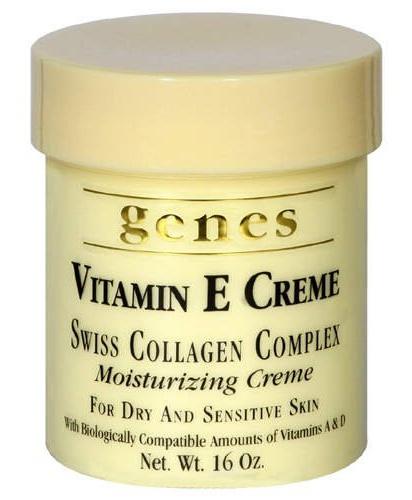 Genes Vitamin E Creme Swiss Collagen Complex