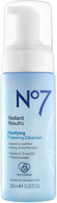 No7 Radiant Results Purifying Foaming Cleanser