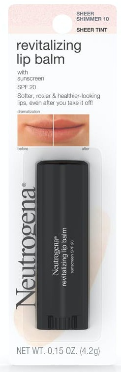 Neutrogena Revitalizing Lip Balm SPF 20