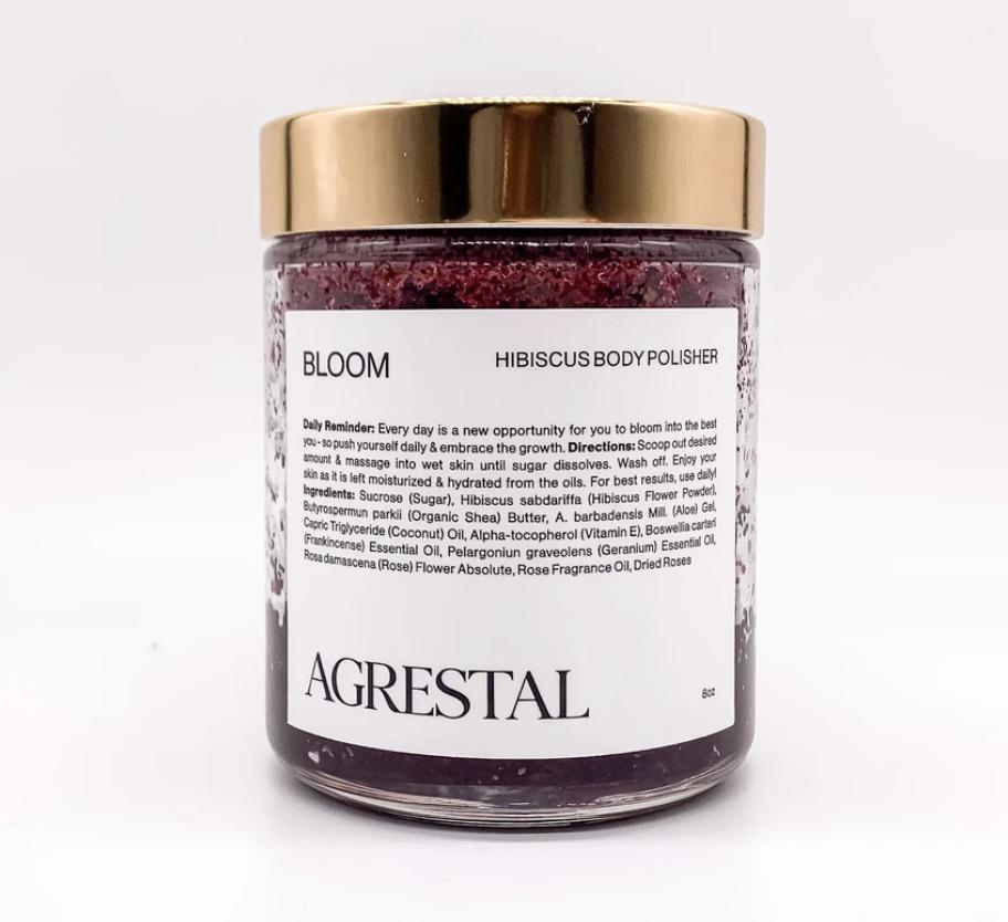 Agrestal Bloom. Hibiscus Body Polisher