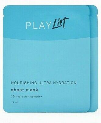 Play List Nourishing Ultra Hydration Sheet Mask 3D Hydration Complex
