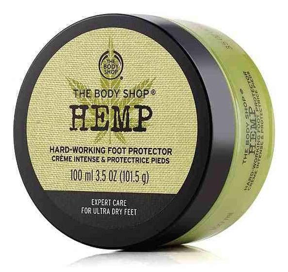 The Body Shop Hemp Hard Working Foot Protector