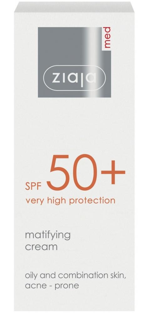 Ziaja Med Matifying Cream SPF 50
