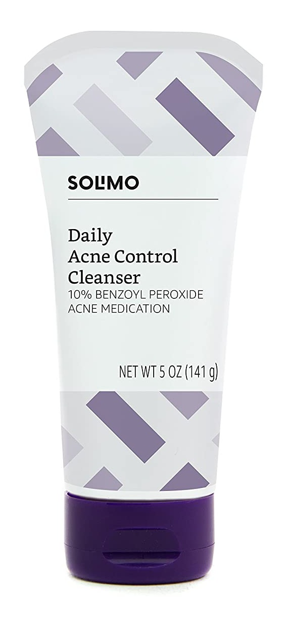 Solimo Daily Acne Control Cleanser