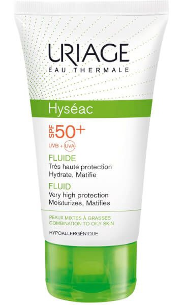 Uriage Hyséac High Protection Emulsion For Combination To Oily Skin Spf50+