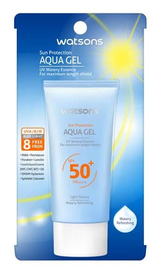 Watsons Sun Protection Aqua Gel SPF 50