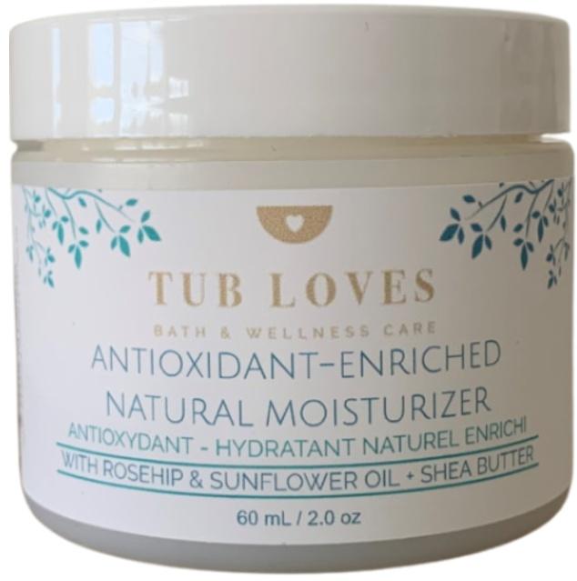 Tub Loves Antioxidant-Enriched Natural Moisturizer