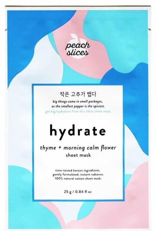 Peach and Lily Peach Slices Sheet Mask Hydrate