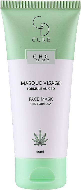 CBD Cure CBD Formula Face Mask
